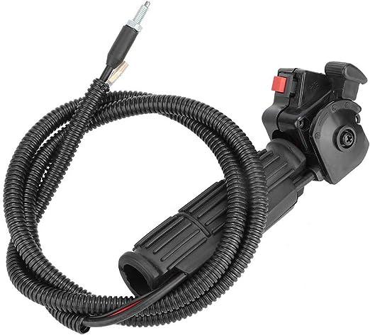 Mumusuki Nuevo Mango del Acelerador y Cable de Agarre Cortacésped para jardín Cortacésped Cable del Acelerador Interruptor de Control Accesorio de Repuesto: Amazon.es: Hogar