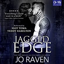 Jagged Edge Audiobook by Jo Raven Narrated by Teddy Hamilton, Iggy Toma