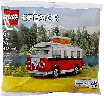 Amazoncom Lego Creator Volkswagen Camper Van 40079 Polybag 76