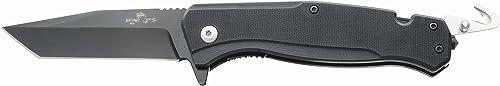 Bear Ops Bear Swipe V 4 5 8 Assisted Open Survival Knife, Black
