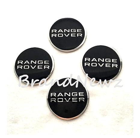 Range Rover Emblema Rueda Centro Tapa Adhesivo Logotipo Tapacubos – 55 mm Cúpula Cúpula de –