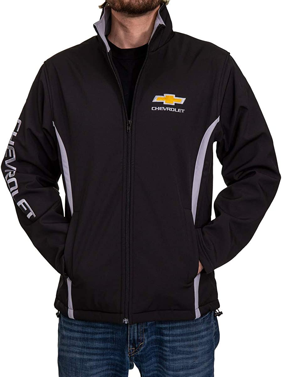 Silverado Camaro GM Bonded Polyester All-Season Jacket Chevrolet Corvette Unisex for Men and Women