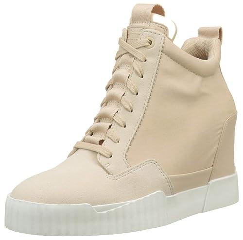 G-STAR RAW Rackam Core Wedge, Zapatillas Altas para Mujer: Amazon.es: Zapatos y complementos