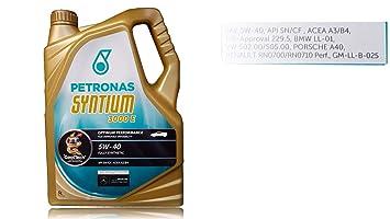 Aceite motor Petronas Syntium 3000E 5W 40&nbsp ...