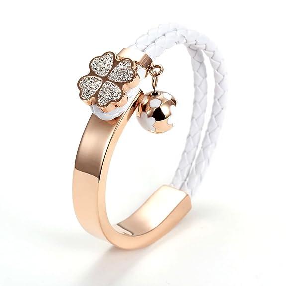14 opinioni per Wistic jewelry Donna Acciaio Inossidabile// Placcato Oro-Cristallo