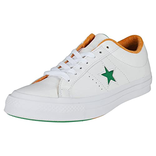 Converse One Star Ox Uomo Green White Scarpe 9.5 UK