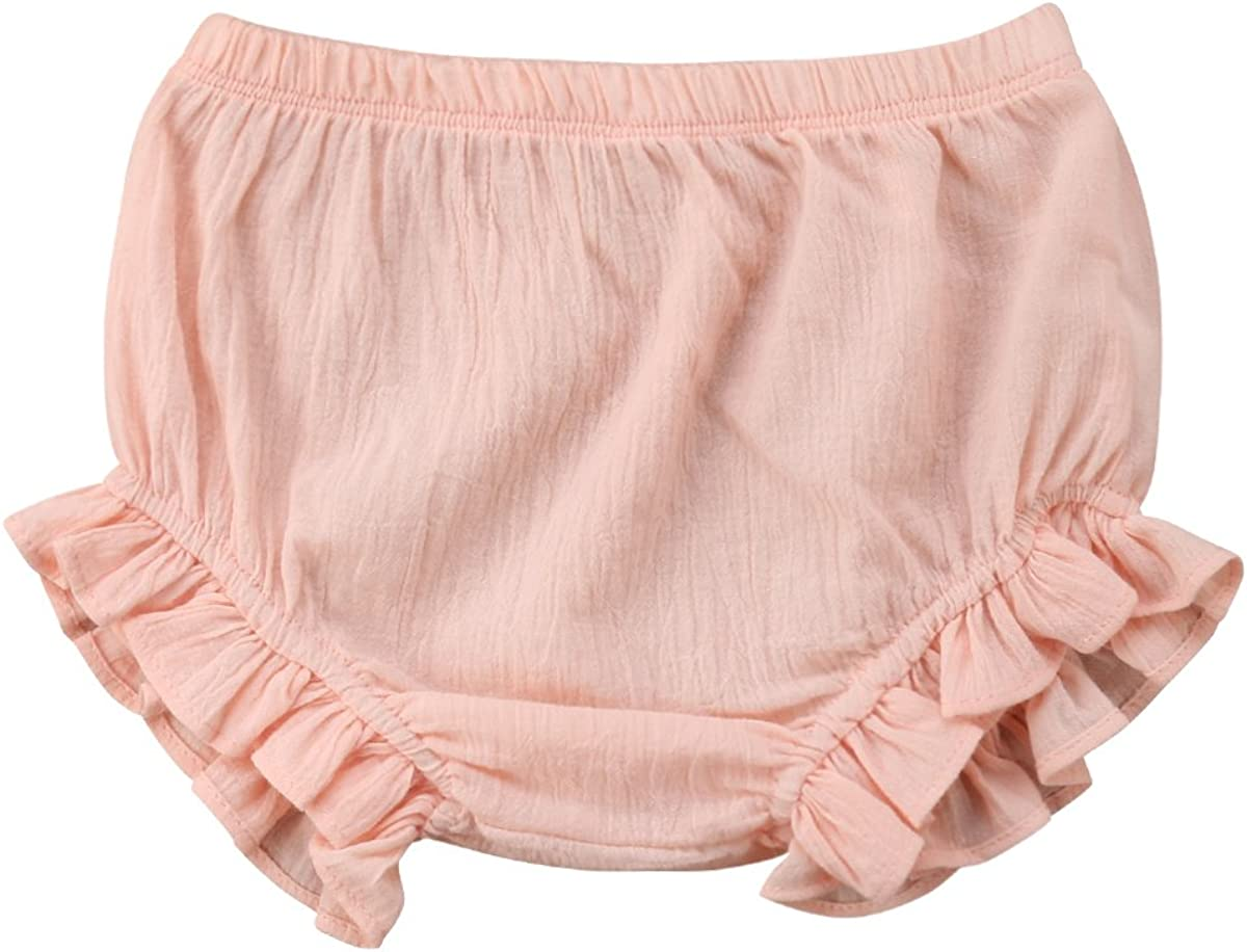 Carolilly Mutandine Cotone Neonata Biancheria Intima Bambino Neonata Pantaloncini Estivi Bambina 9Mesi-5Anni