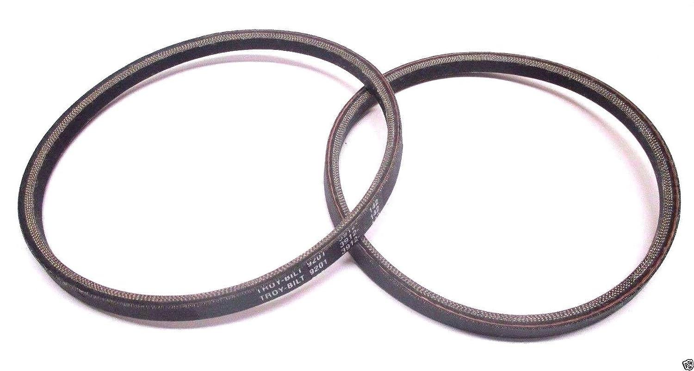 MTD Genuine GW-20402 Tiller Drive Belt Set Fits Troy Bilt GW-9200 GW-9201 OEM