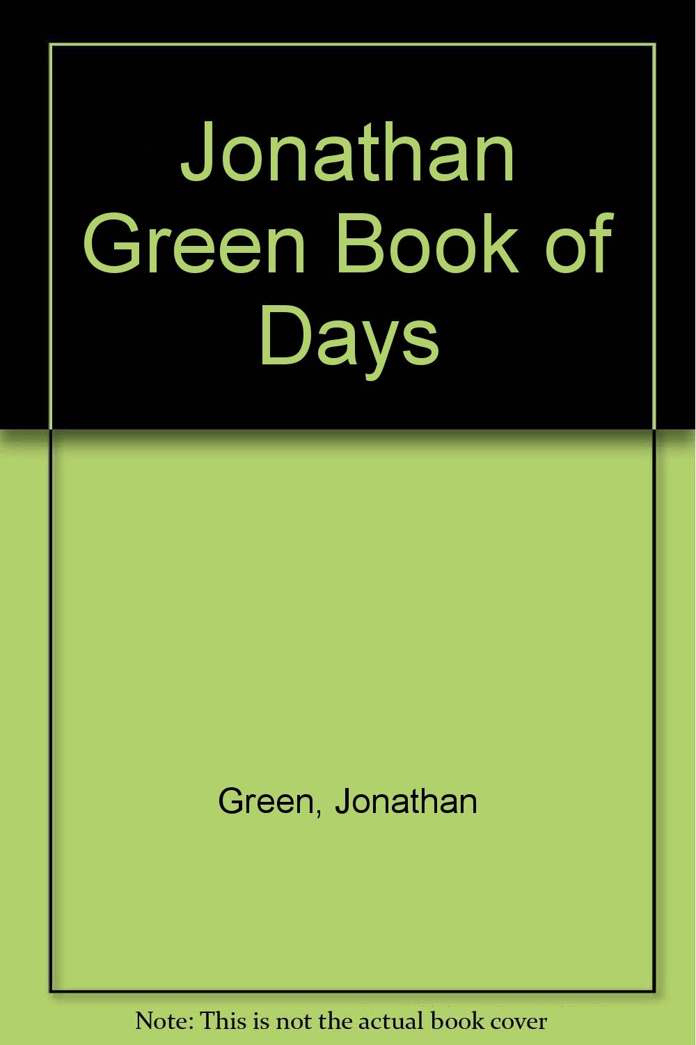 jonathan green book of days