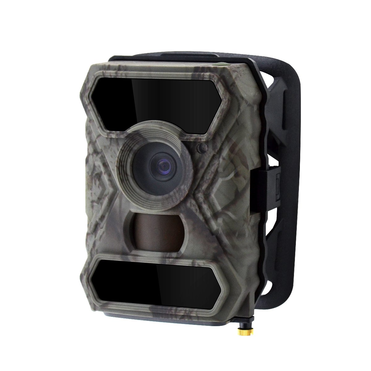 Trail Game Hunting Camera, WingHome 0.4S Trigger Speed 12MP 1080P HD 100° Wide Angle Lens No Glow Infrared Night Vision IP54 Waterproof, for Wildlife Monitoring and Home Security