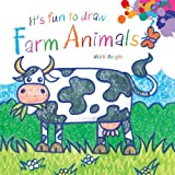 It's Fun to Draw Farm Animals, Mark Bergin, 1616086696