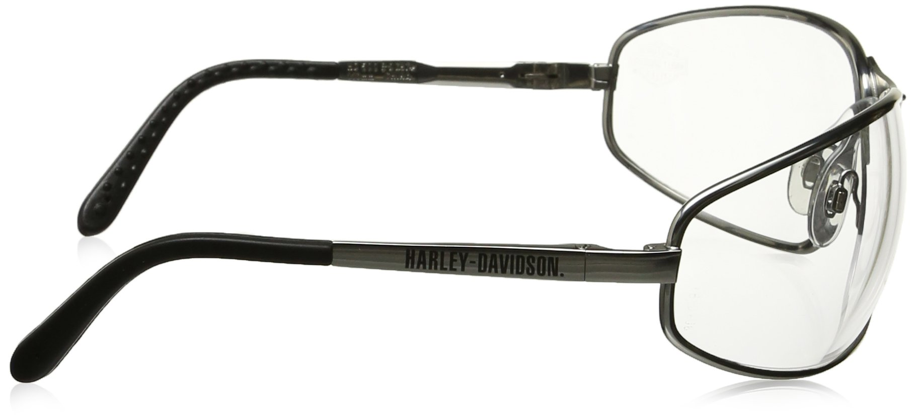 6dfce49cf5 Harley-Davidson HD501 Safety Glasses with Silver Matte Frame and ...