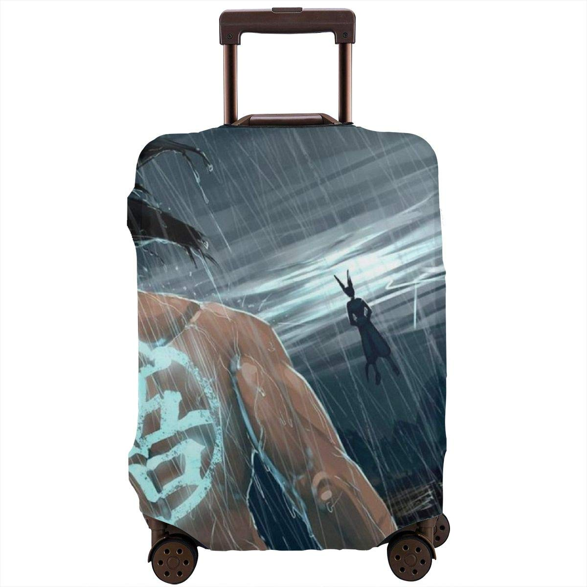 Dragon Ball Suitcase Protector Travel Luggage Cover Fit