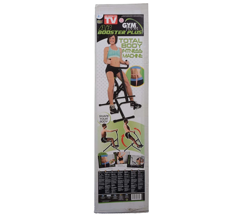 Gymform Booster Plus Bauchmuskeltrainer, schwarz grün