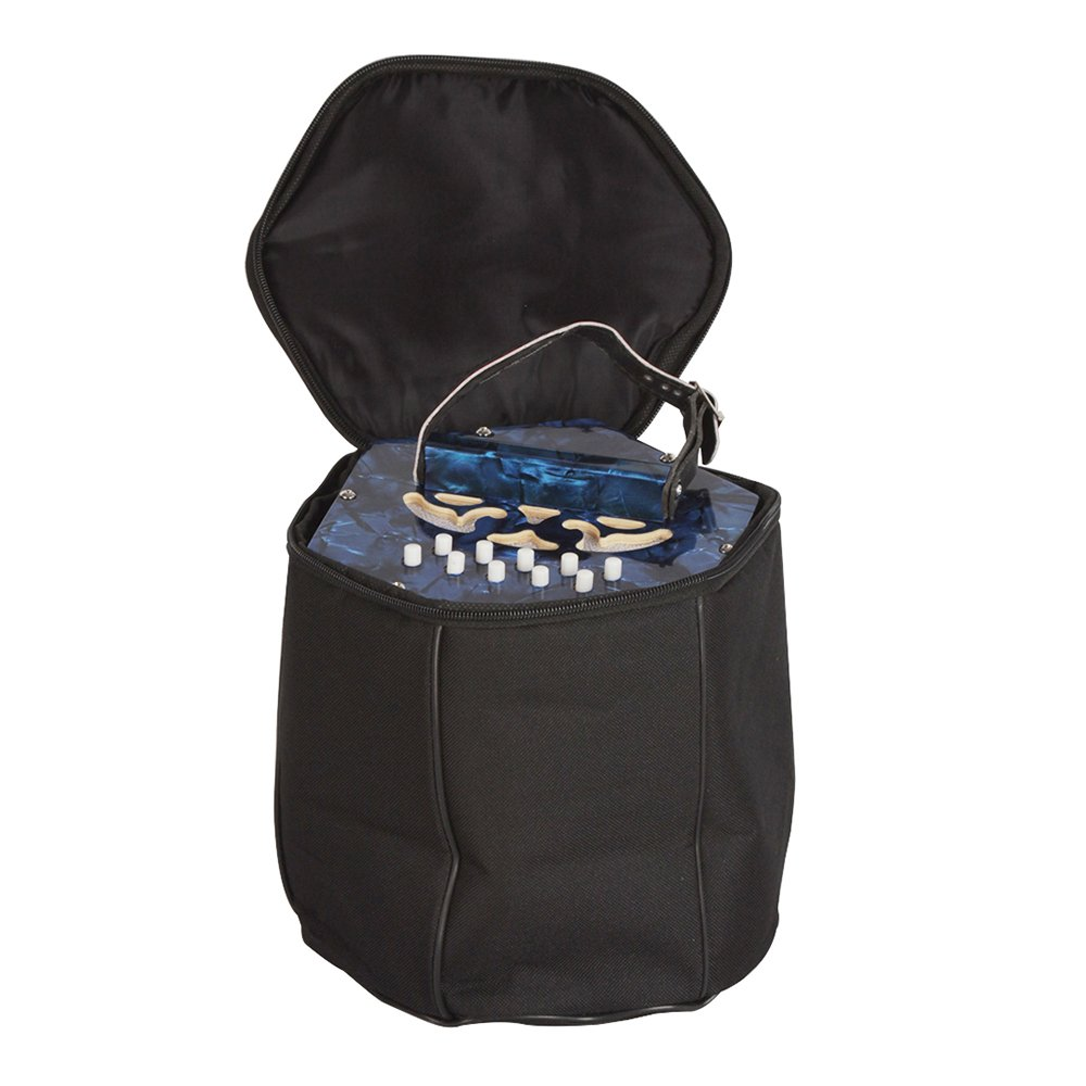 Walmeck Concertina Accordion 20-Button 40-Reed Anglo Style with Carrying Bag by Walmeck (Image #8)