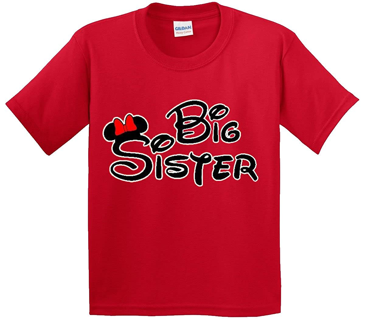 024966a9c Amazon.com: New Way 554 - Youth T-Shirt MICKEY MOUSE BIG SISTER: Clothing