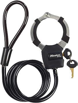 MASTER LOCK Antirrobo Cable [Largo 1 m] 8275EURDPROBLK - Candado ...