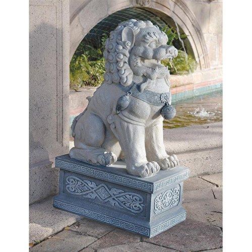 Design Toscano Giant Foo Dog of the Forbidden City Sculpture