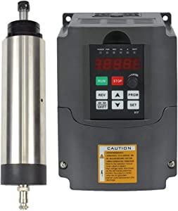 1.5KW 220V Air Cooled Er11 CNC Spindle Motor and 1.5kw 220v Vfd Variable Frequency Drive
