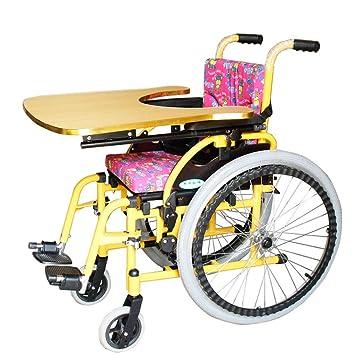 Amazon.com: ZHBWJSH - Silla de ruedas para niños, plegable ...
