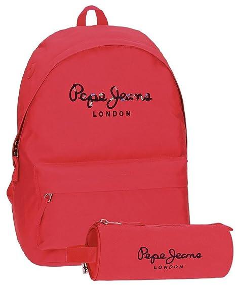 Pepe Jeans 66823A2 Harlow Mochila Escolar, 42 cm, 22.79 ...