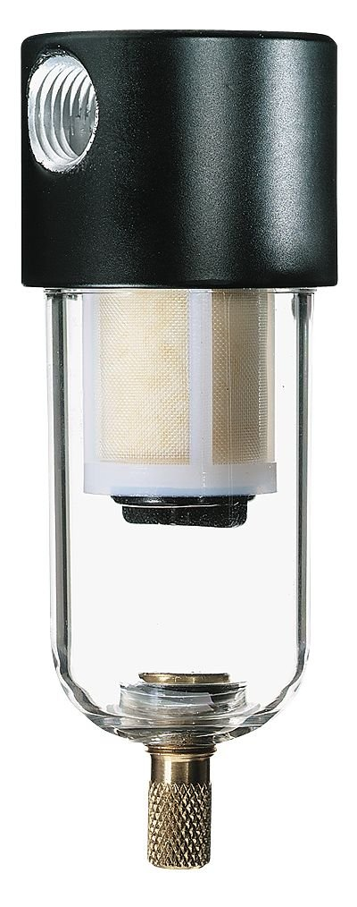 Parker Hannifin 8A02N-OB2-BX in-Line Compressed Air Filter, 6 scfm, 150 psi, 1/4''NPT(F) by Cole-Parmer