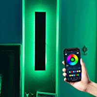 Modern Wall Sconce LED RGB Color Dimming Wall Light Home Decoration, Living Room Bedroom Nightstands (Size : 40CM)