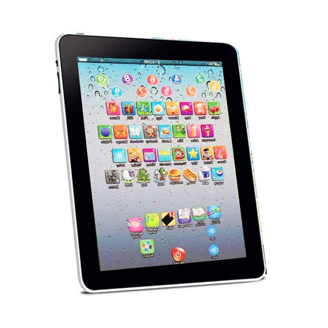 kiloid Kids Pad Toy Pad Computer Tablet Education Learning Education Machine Touch Screen Tab Electronic Systems