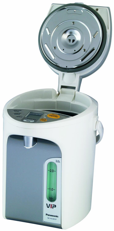 Amazon.com: Panasonic NC-HU401P Water Boiler 4.2-Quart with Vacuum ...