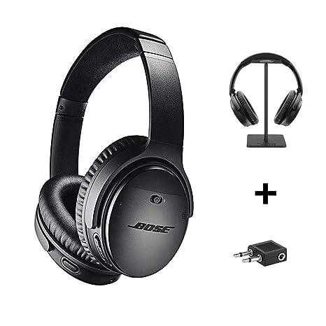 Bose Cuffie QuietComfort 35 II Wireless + Supporto per Cuffie + Adattatore  Aereo 22c0476ac3ba