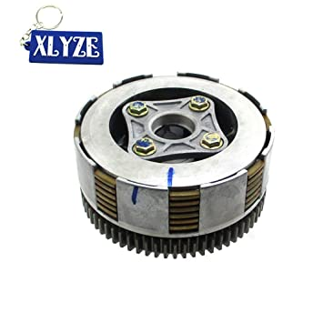 XLYZE Conjunto de embrague Z190 para Zongshen 2V 190cc ZS1P62YML-2 Motor Pit Dirt Bike: Amazon.es: Coche y moto