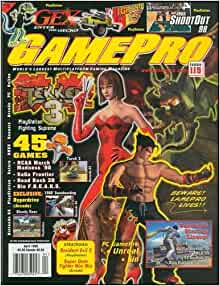 GAMEPRO MAGAZINE – 1998 – Almost a Complete Year - 11 Issues