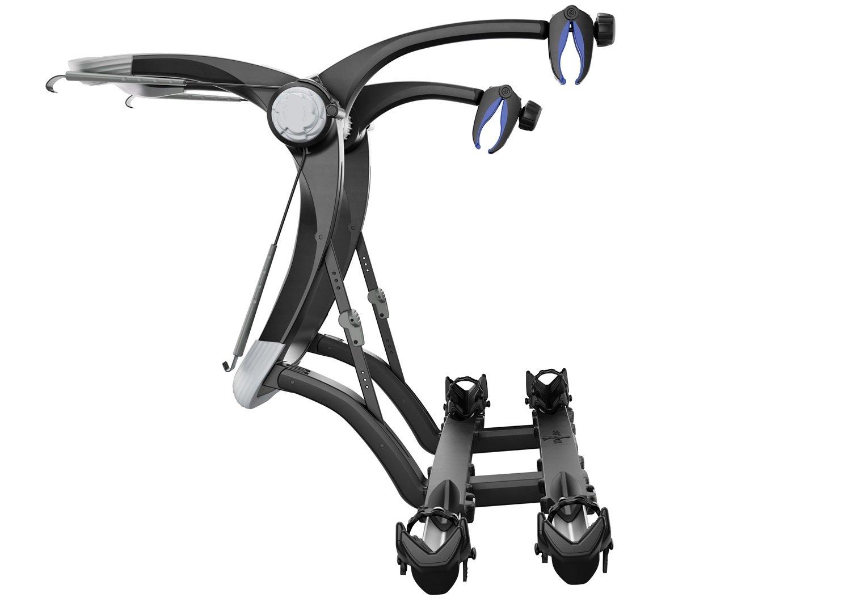 rack mount deluxe racks bike locking platform crest sportrack hitch