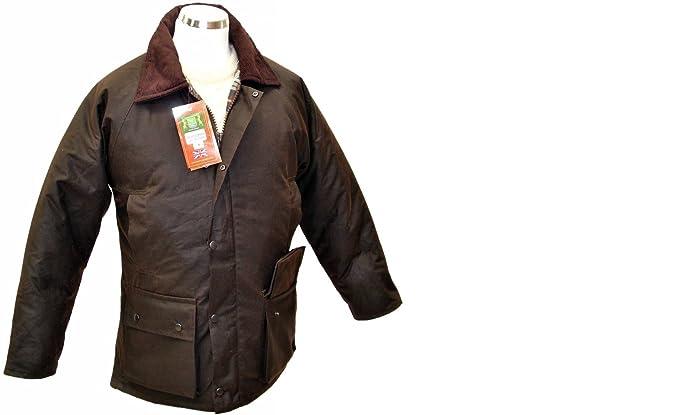 Hunter Outdoor - Chaqueta Impermeable - para Hombre Marrón marrón X-Small