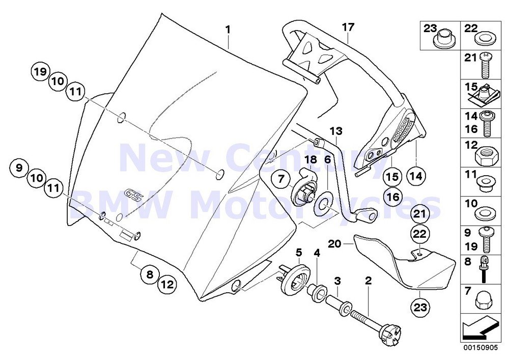 Amazon Com 2 X Bmw Genuine Motorcycle Windshield O Ring 6x1 8