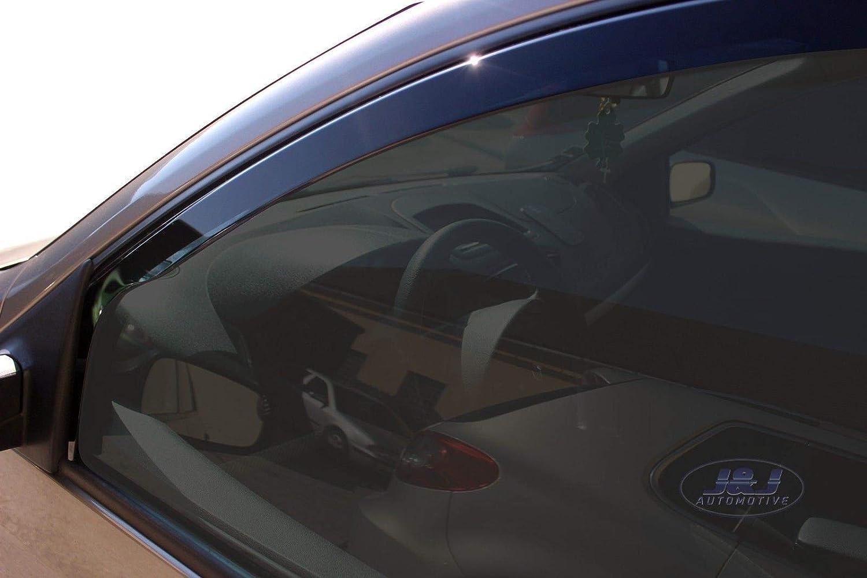 J/&J AUTOMOTIVE DEFLETTORI ARIA ANTITURBO Renault Clio III 5 porte 2005-2012 4pezzi