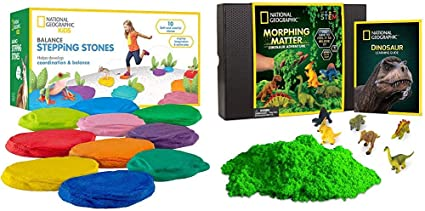 NATIONAL GEOGRAPHIC Obstacle Course Stepping Stones