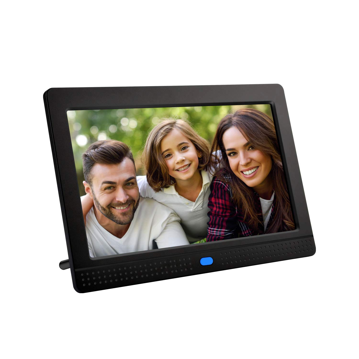 Digital Photo Frame,PowerDoF 7 Inch Widescreen Digital Picture Frame with High Resolution IPS Display Motion Sensor and Remote Control by PowerDoF
