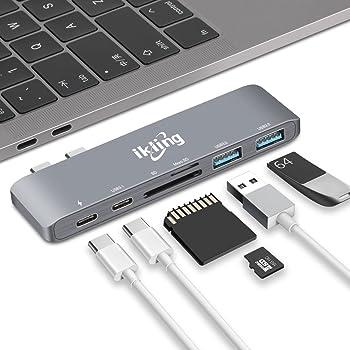 ikling Thunderbolt 3 to USB Type C Hub Adapter