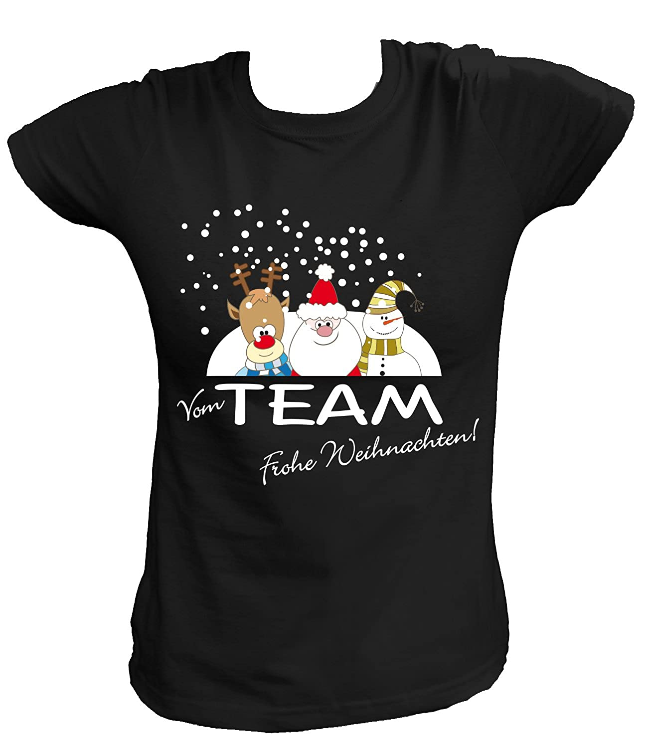 Art Team Nero Dal Shirt Buon Donna T Amazon 44 Natale Diktat Da RqZRCUw