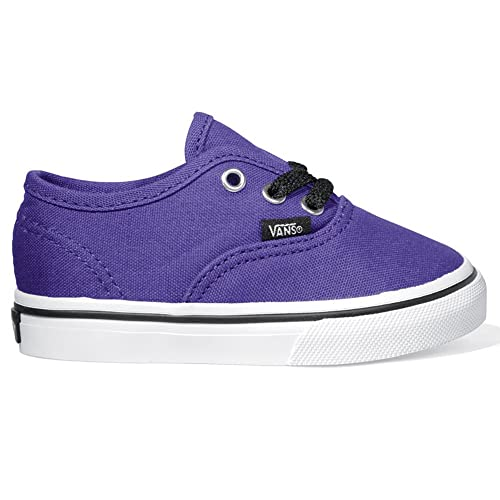 Vans Auténtico Infantil Zapatillas - Morado - Dark Purple True White ... 98d2be9a030
