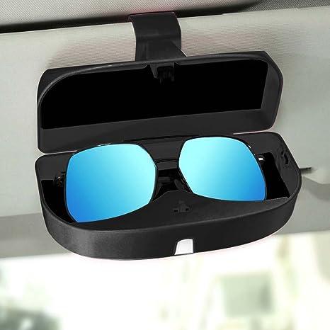 Amazon.com: Soporte de anteojos para coche Sun Visor ...