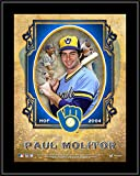 """Paul Molitor Milwaukee Brewers 10.5"""" x 13"""" Hall of Fame Sublimated Plaque - MLB Player Plaques and Collages"""