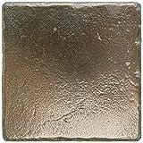 Dal-Tile 66T1P-MS11 Metal Signatures Tile, 6'' x 6'', Aged Bronze