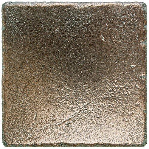 Dal-Tile 66T1P-MS11 Metal Signatures Tile, 6'' x 6'', Aged Bronze by Daltile