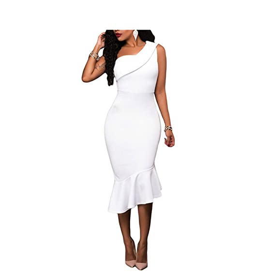Eloise Isabel Fashion sexy lady ombro flouncing pacote hip magro moda sexy dress vestidos lc61490