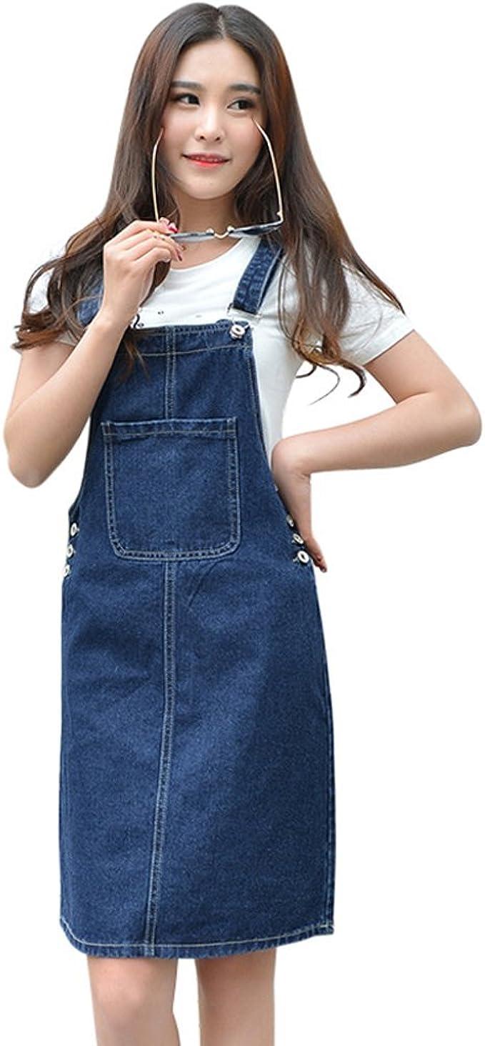 Drasawee Womens Casual Slim Long Jeans Trousers Sweet Overalls Pants Denim Pants