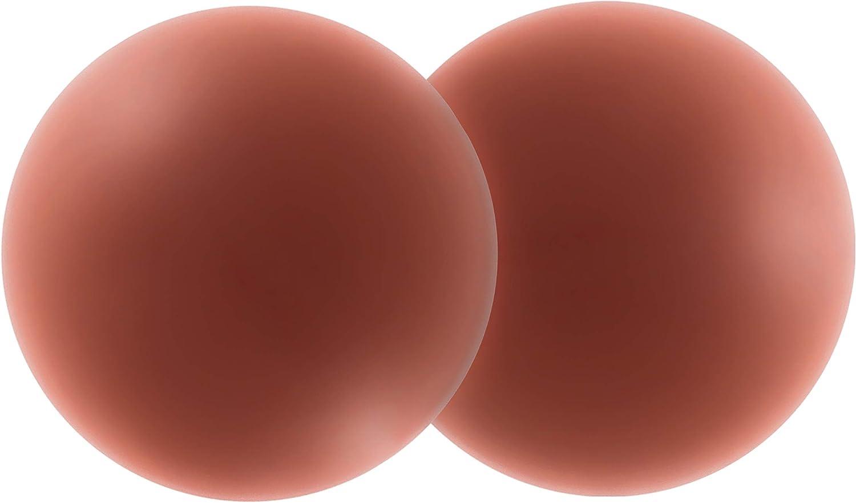 Lot de 2 paires de cache-t/étons en silicone r/éutilisables pour femme et homme Taille unique
