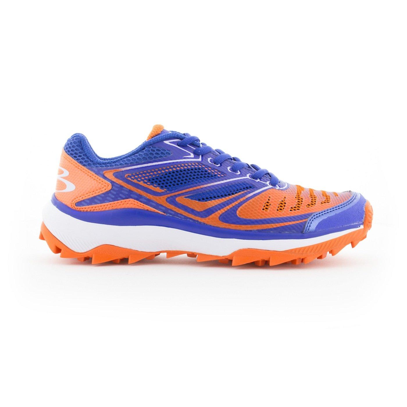 BoombahメンズTurbine Turf Shoes – 20カラーオプション – 複数のサイズ B076JRJHPX 13|ロイヤル/オレンジ ロイヤル/オレンジ 13