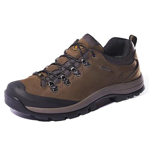Camel Crown Zapatos de Senderismo para Mujer al Aire Libre Trekking Low-Top Profesional Antideslizante Zapatillas de Deporte al Aire Libre Zapatillas de ...